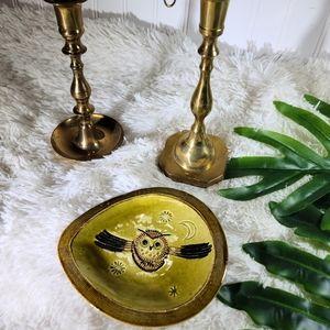 🌵Vintage Boho Owl Ash Tray ♥ 5/$30
